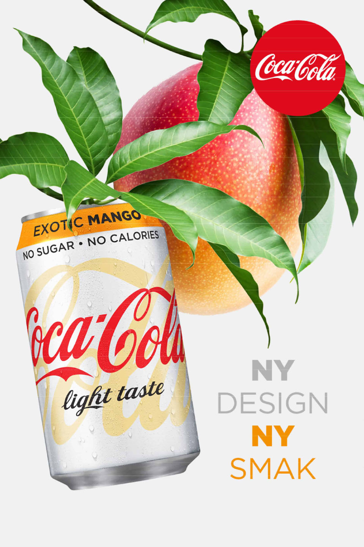 Coca cola mango